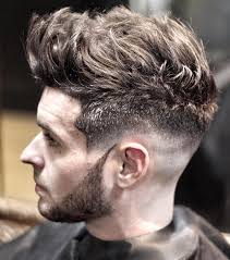 textured top faded sides 15 best hairstyles for men with thick hair