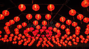 luck lanterns lanterns in new year stock photo image 49179266