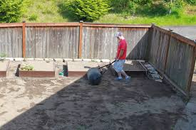 leveling out a backyard part 19 best way to level grade dirt