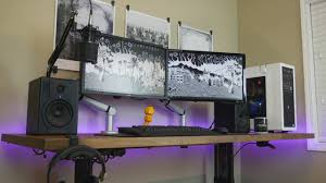 Stand Desk Ikea by Manual Sit To Standing Desk Review Ft Ikea Karlby Countertop Youtube