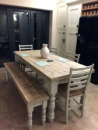 bench dining room table farm table with bench dining table with bench and chairs best