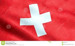 Flag Red With White Cross Waving Fabric Texture Flag Switzerland Red Background White Cross Symbol Swiss 92621507 Jpg