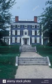 Federal Style House Codman House Lincoln Massachusetts New England Clapboard House