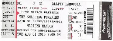 Smashing Pumpkins Jones Beach Setlist by Acidica U0027s Site Smashing Pumpkins Marilyn Manson In Toronto Aug