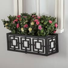 planters extraordinary metal flower boxes metal flower boxes