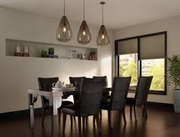 Contemporary Pendant Lights by Home Design Niche Modern Aurora Pendant Lights Above A Dining