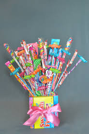candy bouquets how to make a candy bouquet pizzazzerie