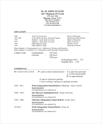 Construction Superintendent Resume Samples by Superintendent Resume Template 7 Free Word Pdf Documents