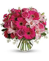 pink bouquet a pink me up bouquet teleflora