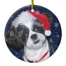 shih tzu ornaments keepsake ornaments zazzle