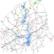 Clemson University Map Lake Hartwell Area Recreation
