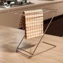 kitchen towel rack ideas dish towel rack cosmecol