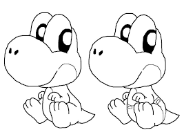 printable 24 mario and yoshi coloring pages 5262 mario and yoshi