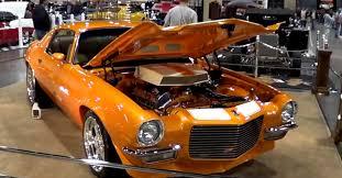 custom 71 camaro 1971 chevy camaro rod a k a creamsicle cars cars