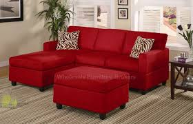 Red Sofa Sets by Elegant Red Sofa Wooden Style Accents White Bright Interior Design