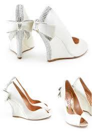 wedding shoes nz editor s wedge wedding shoes from aruna seth weddbook