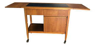 Mid Century Furniture Century Furniture Mid Century Rolling Bar Cart Chairish