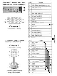 jeep liberty stereo wiring diagram jeep wiring diagram for cars