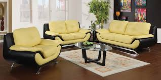 yellow and black leather sofa popular trends 2018 2019