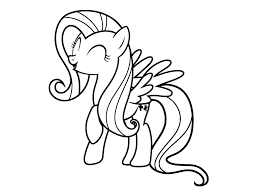 fluttershy coloring pages cartoon coloring pages pinterest