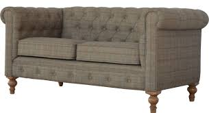 2 Seater Fabric Chesterfield Sofa by Hazelwood Home Chesterfield 2 Seater Chesterfield Sofa Wayfair Co Uk