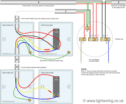 3 way light switching new cable colours and two way switching