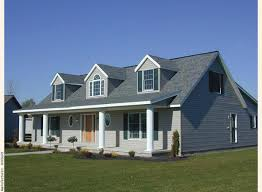 cape cod front porch a cape cod modular home with three gable dormers crowning a