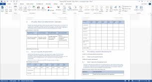 capacity capacity plan template download microsoft word and excel templates