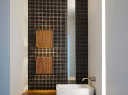 kansas city architecture modern powder room via hufft projects