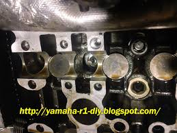 yamaha yzf r1 diy repair fix tips yamaha yzf r1 intake valve