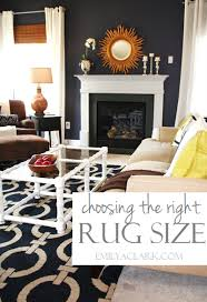 how to choose a rug how to choose the right rug size emily a clark