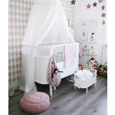 Girls Canopy Over Bed by Love The Idea Of A Draped Bed Canopy Over Baby U0027s Crib Or Bassinet