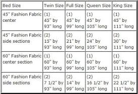 Measurement Of A King Size Bed King Size Bed Linen Measurements Hip Edge Com