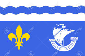 The France Flag Flag Of Hauts De Seine Is A French Department In The Ile De France