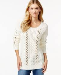 sweaters macys bar iii embellished cable knit sweater only at macy s sweaters