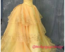 Belle Halloween Costume Women Disney Costume Etsy