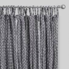 White Patterned Curtains Striped Curtains Colorful Patterned Drapes World Market