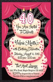 40th birthday party invitations combined with your creativity will make this looks awesome 20 jpg