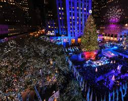 80th annual rockefeller center christmas tree lighting ceremony