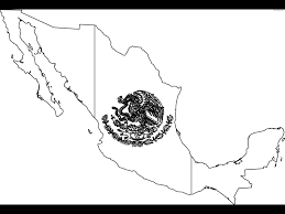 Mexican Map Printable Blank Map Of New Mexico Coloring Coloring Pages