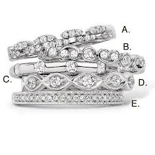 stackable diamond rings diamond stackable rings white diamond stackable ring diamond