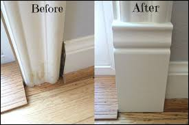 bathroom baseboard ideas bathroom baseboard ideas great add a plinth block to door trim for