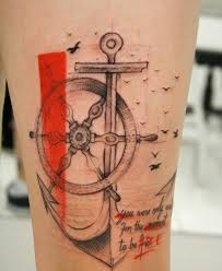 new cool anchor tattoo design tattoos pinterest anchor