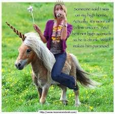 High Horse Meme - on your high horse quote pinterest