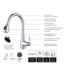 bronze pull down kitchen faucet clearance page 3