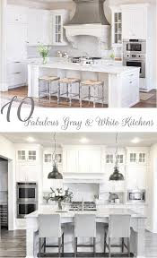 gray kitchen cabinets with white trim 10 fabulous gray and white kitchens tuft trim