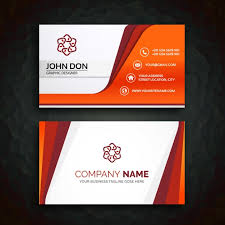 template for business cards business card template vector free