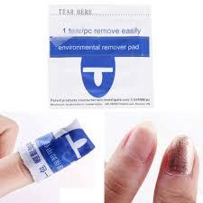 200pc foiled uv gel nail polish remover wraps w acetone u2013 nail tramp