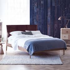 Leather Headboards King Size by Heal U0027s Nordic King Size Bed With Leather Headboard Bed Frames