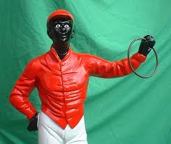 historical american lawn jockey statues